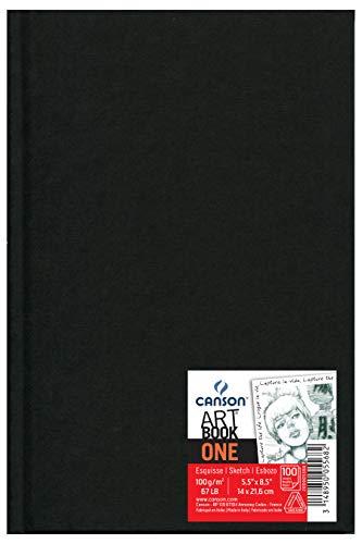 Sketchbook A5 100g/m², Canson, ArTBook One, 98 Folhas