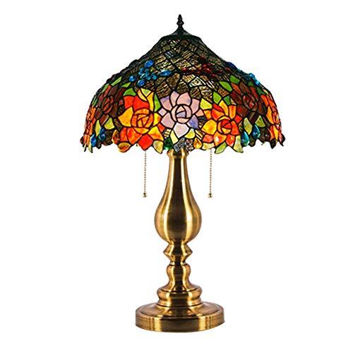 Classico Elegant Art Glass bedlampje, exquise oogschaduw, mooie structuur, tafellamp voor plafondlamp, inclusief