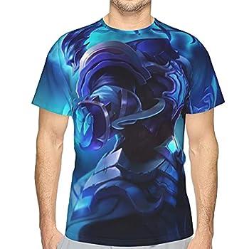 Thresh League Legends 3D Men s T-Shirt LOL Sleeve Top Shirt Tee for Men Youth
