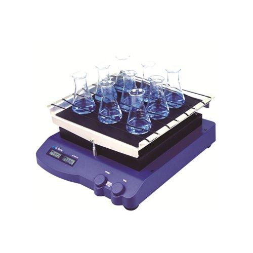 Scilogex 83321001 Model SK-R330-Pro LCD Digital See-Saw Rocking Shaker with Tissue Cultture Flask Platform, USA Plug, 100/240V
