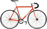Kilo TT Mercier Reynolds 520 Steel Single Speed Track Bike Fixie Fixed Gear Bicycle (Orange,...