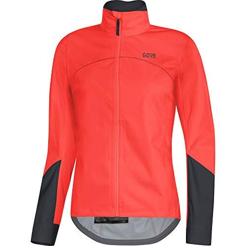 GORE WEAR C5 Damen Fahrrad-Jacke GORE-TEX Active, 40, Orange/Schwarz