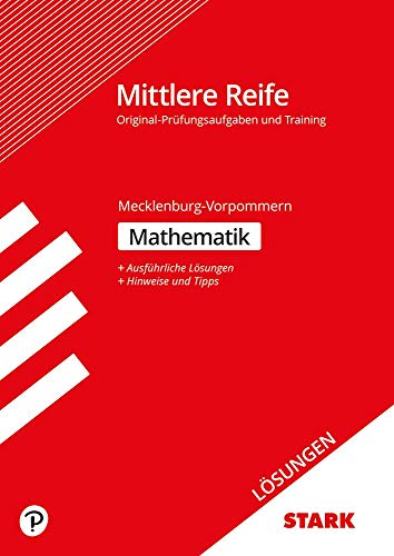 STARK Lösungen zu Training Abschlussprüfung Mittlere Reife - Mathematik - Mecklenburg-Vorpommern