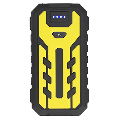 Caja de arranque de litio portátil con capacidad de batería incorporada de 28000 mAh equipada con linterna LED Tiene función de protección múltiple(Estándar europeo 220V, oro)