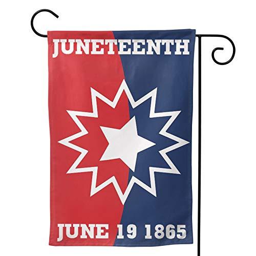 Juneteenth Garden Flag