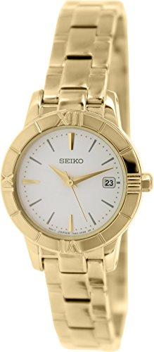 Seiko SXDE40P1 - Reloj analógico de Cuarzo para Mujer con Correa de A