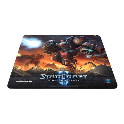 SteelSeries QcK Starcraft II Gaming Mauspad Marauder Edition