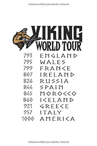 Diabetes Tagebuch: Wikinger Eroberung Tour Tournee Lustiges Geschenk Typ 1 & Typ 2, 120 Seiten, 59 Wochen, 6X9 (Ca. A5), Blutzuckertagebuch, Hypertonietagebuch