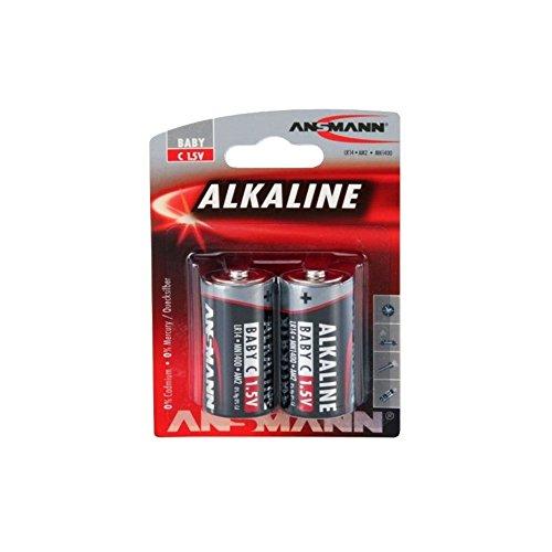Ansmann – Alcaline Red Line LR 14 C Blister de 2