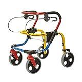 CHINESPORT - Deambulatore per bambini in alluminio verniciato multicolore