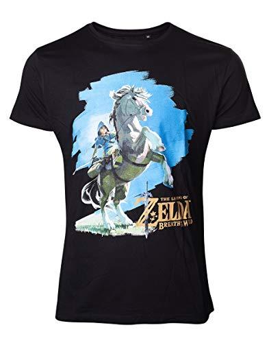 Nintendo Zelda Breath of the Wild Herren T-Shirt
