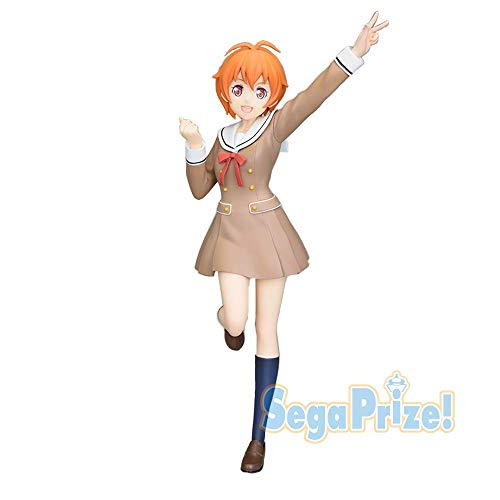 SEGA Bang Dream Bandori Girls Band Party Premium Figure Kitazawa Hagumi School Days 21cm