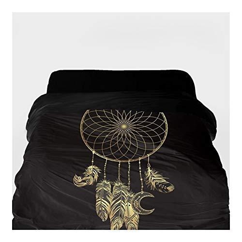 3D-Bettbezug Decke/Tröster Abdeckung 220x240 (Color : 20, Size : 155x215cm)