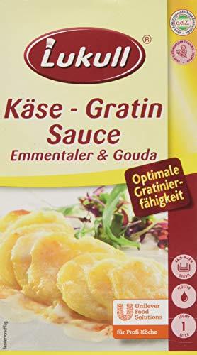 Lukull Käse Gratin Sauce (1 L Packung)