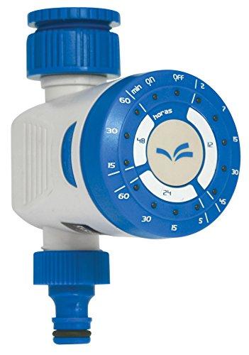 Aqua Control C4200 Programador de Riego Clicker de 1 Único Botón para Jardín, para todo tipo de grifos. Apertura a 0 Bar