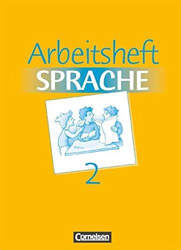 Arbeitsbuch Sprache: Band 2 - Arbeitsheft