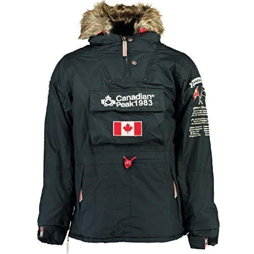 Canadian Peak Herren Parka Banotiko Gr. XL, marineblau