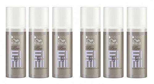 Wella EIMI Velvet Amplifier 6 x 50 ml Smooth Styling Foundation Professionals by Wella