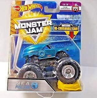 Hot Wheels N.E.A. Police Tour Favorites Monster Jam Diecast Recrushable Car