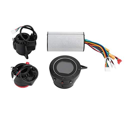 Fgyhty 5.5/6.5 Pulgadas 24V Fibra de carbón Universal Scooter eléctrico Controlador de...
