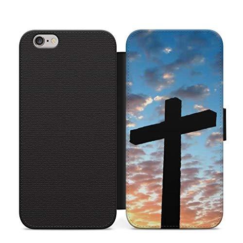 Nubes Cruz Cristiana Jesús Billetera De Cuero Flip Funda Para Honor 20