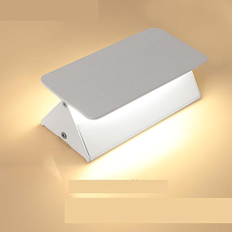 XIAPENG16cm simple LED lámpara de parojo de aluminio lámpara de parojo de dirección ajustable hotel salón lámpara decorativa pasillo lámpara de cabecera