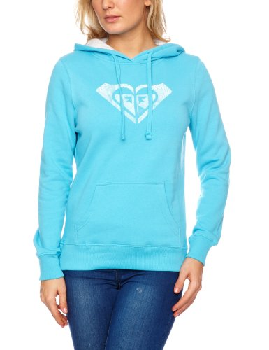 Roxy Damen Hoody Beach Brights, neon blue, 36-38 (S), XMWSW971B