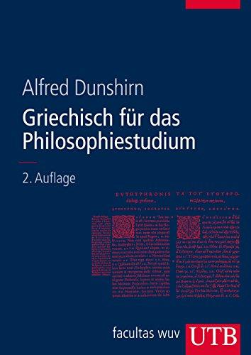 Griechisch für das Philosophiestudium