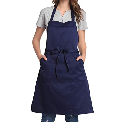 Men Adjustable Large Size Comfortabl BIGHAS H Style Apron with Pocket for Women