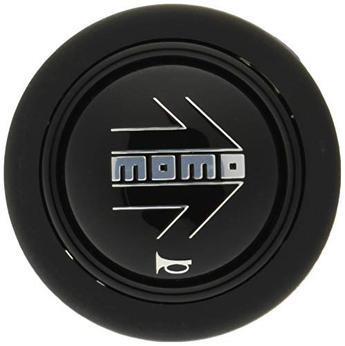 MOMO(モモ) ホーンボタン SILVER ARROW BLACK HB-02