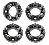 4pcs 1' Wheel Spacers | 5x4.5 Adapters | 12x1.5 Studs | Fits Chevy Buick Cadillac Oldmobile Pontiac