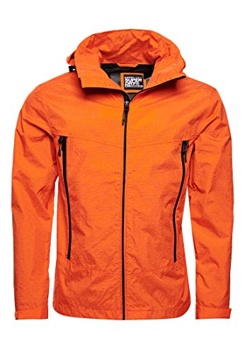 Superdry Altitude Wind Hiker Chaqueta, Naranja (Denver Orange Tsw), M para Hombre