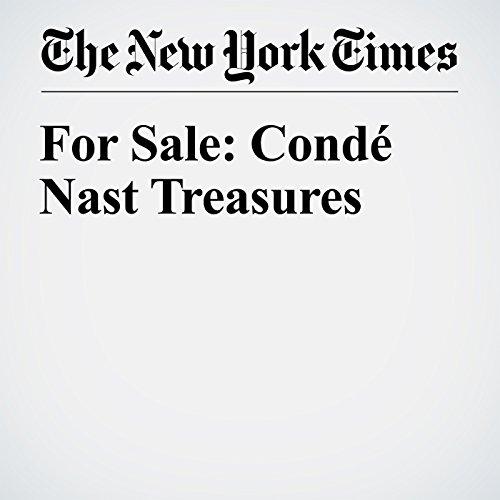 For Sale: Condé Nast Treasures copertina