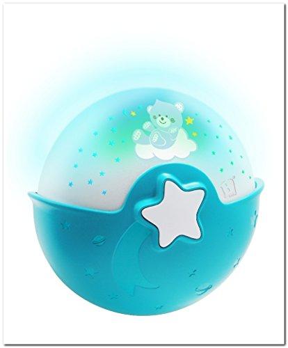 bkids Snooze projecteur Ciel étoilé 3 dans 1 bleu - Le Classic