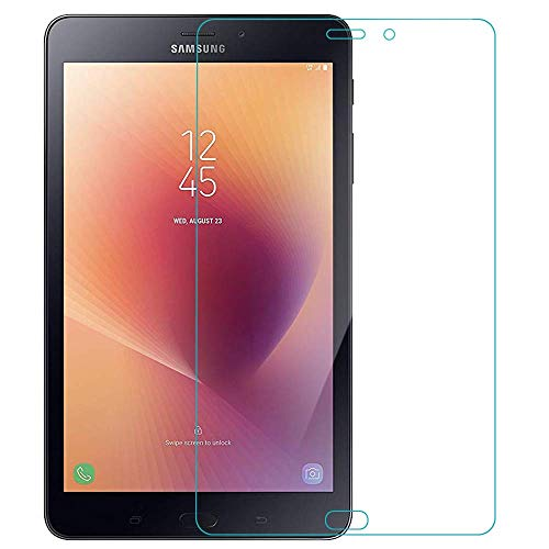 BAI AND KAKA® Tempered Glass For Samsung Tab A 8 Inch (SM-T 380/T385) Anti Fingerprint Clear Tranparent