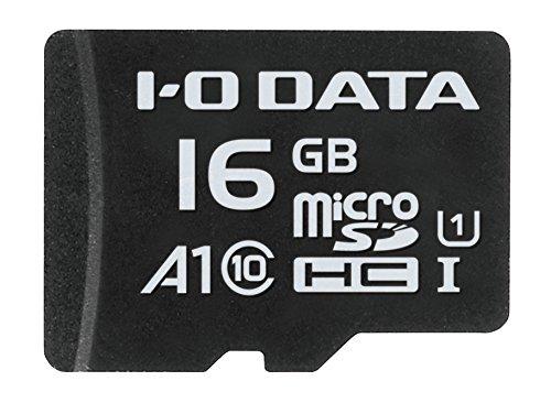 I-O DATA microSDカード 16GB/Application Performance Class 1/UHS-I スピードクラス1対応/MSDA1-16G