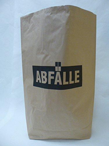 100 St. Papier-Bioabfallsäcke 120l Format 70x95x22 cm Motiv: