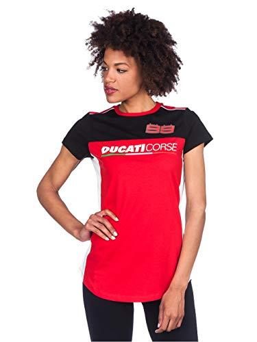 Pritelli 1736016 Ducati Corse Jorge Lorenzo 99 - Camiseta para mujer (talla...