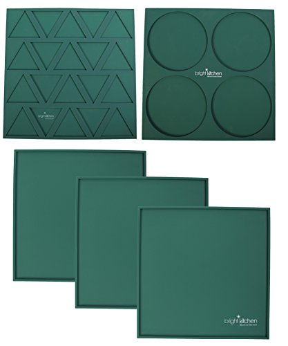 """Set of 9-14/"""" x 14/"""" Silicone Sheets for Excalibur Dehydrator Bright Kitchen Re..."""