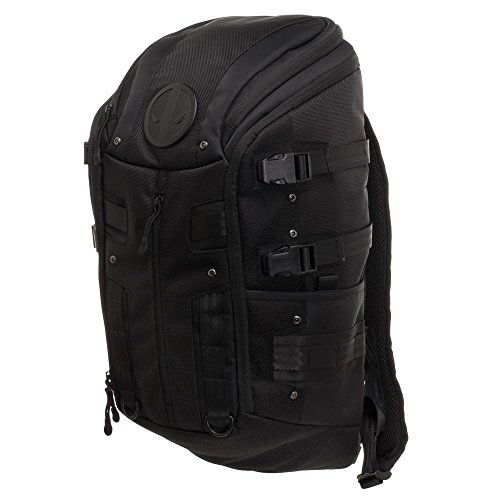 Marvel Comics Deadpool Black Tactical Backpack