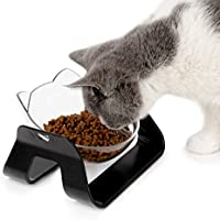 Gapzer Raised Cat Bowl with Detachable Stand
