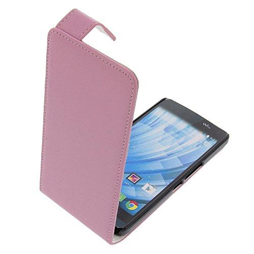 foto-kontor Tasche für Wiko Getaway Flipstyle Schutz Hülle pink