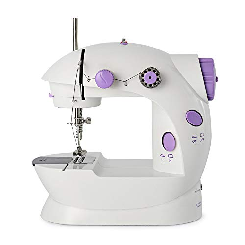 Portable Sewing Machine Mini Sewing Machines for Beginner 2-Speed Double Thread...
