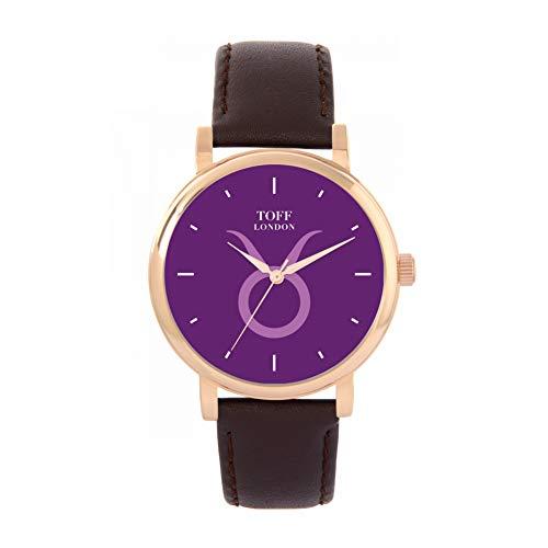 Toff London Reloj Tauro Morado