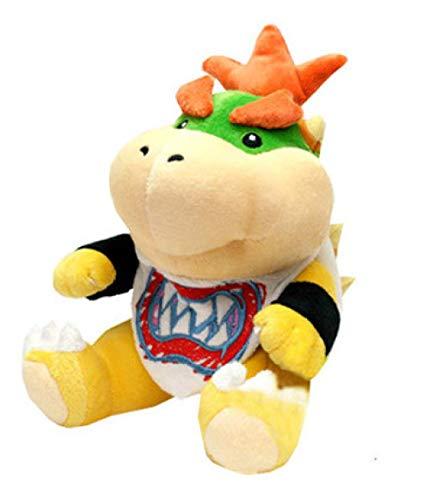 Super Mario Figure Koopa Bowser Plush Toy 18Cm, Super Mario Bros Stuffed Doll Soft Baby Toy Gift