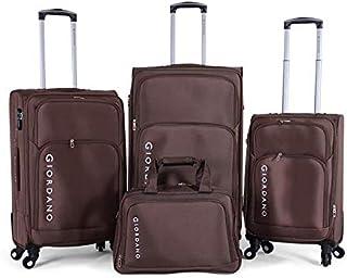 جيوردانو حقائب سفر 4 عجلات ، قطع 3 ، 975231- KAKI