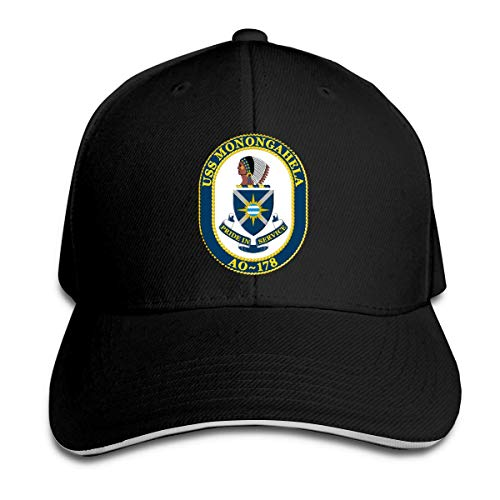 anemone store - Gorro de Casquette para Hombre, diseño de la Bandera de Monongahela AO-178