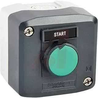 Schneider Electric XALD101H29 , Switch, Push Button, ONE HOLE ENCLOSURE, FLUSH BLACK, 1 NO, MARKED START