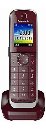 Panasonic KX-TGJA30EXR Mobilteil inkl. Ladeschale weinrot