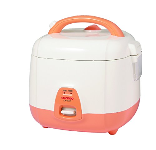 Cuckoo CR-0331 Elektrischer Reiskocher 0,54 l (3 Personen) mit Warmhaltefunktion